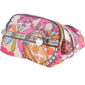 Le SportSac Multicolor Floral Print Belt Bag Fanny